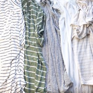 Women's old navy LUXE tee shirt LOT XXL